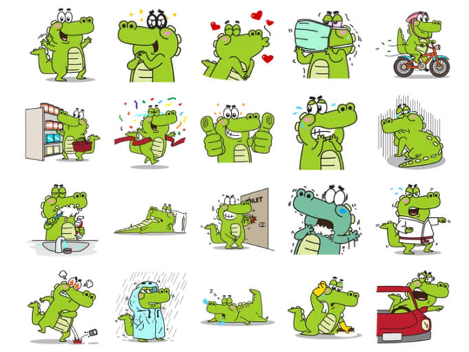 Roco Stickers Pack for Telegram