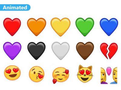 Love Emoji Animated Stickers Pack for Telegram
